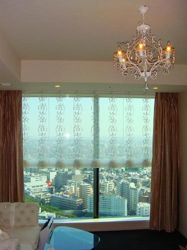 高層マンションカーテン 姫部屋インテリア