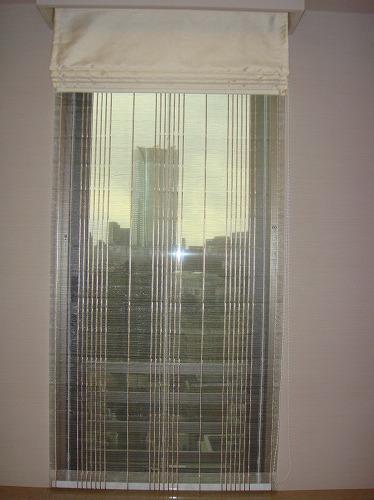 ダブルシェード イタリア・ドイツ生地 高層タワーマンションカーテン