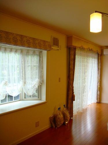 バランスカーテン 出窓のカーテン ドイツ製