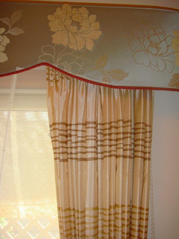 オーダーカーテンならではの・・・リクエスト  かっこいいカーテン