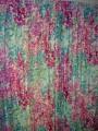花柄のカーテン 絵画のようなカーテン モネの庭