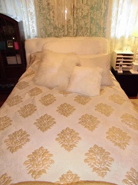 ベッドカバー ロマンチック 上級コーデ