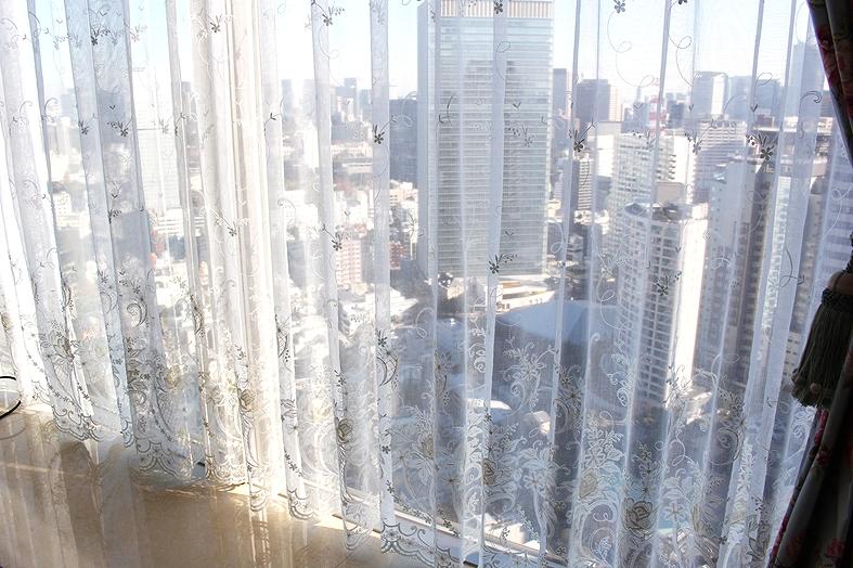 輸入カーテン クラシック タワーマンション