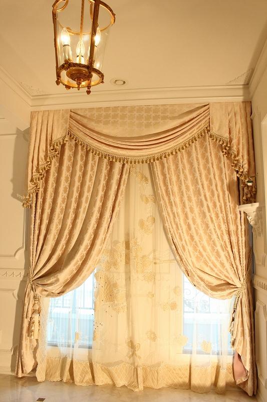 輸入カーテン マリーアントワネット ヨーロッパのカーテン