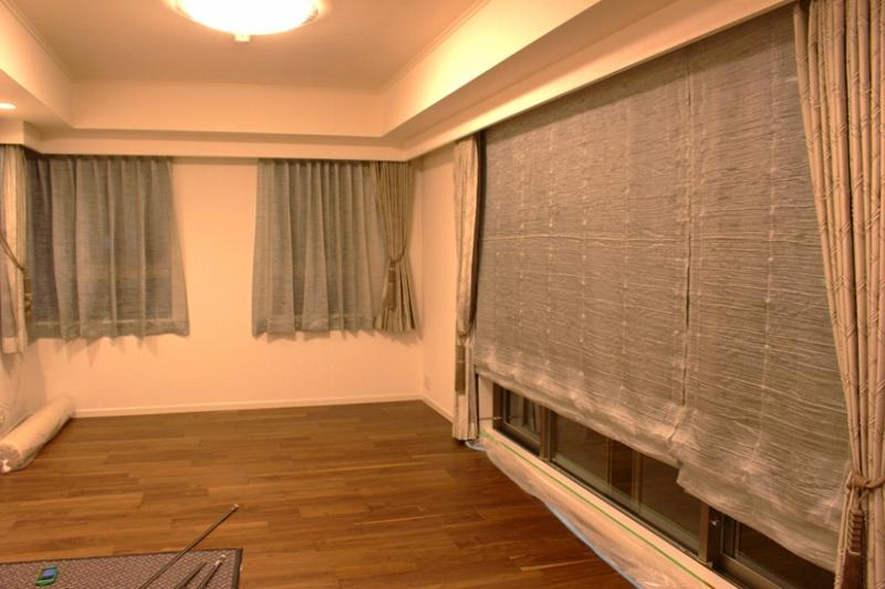 モダンなカーテン グレージュのカーテン ヨーロッパのカーテン