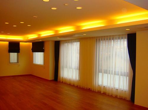 シンプルかっこいいカーテン 黒カーテン 大窓カーテン