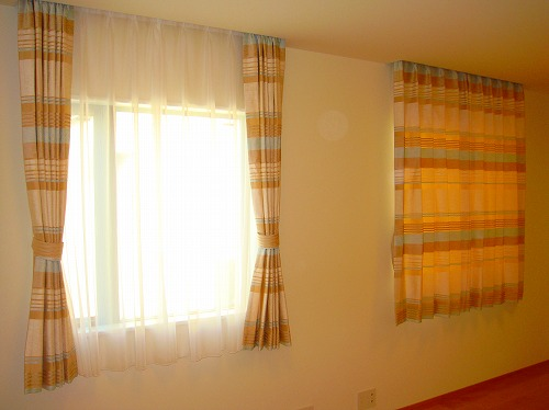 子供部屋カーテン イギリスカーテン
