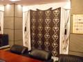 フラットバランス オリエンタル エキゾチックなカーテン