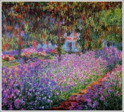 モネの庭 絵画