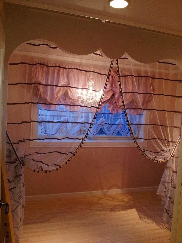 バルーン 女の子の部屋 フリル