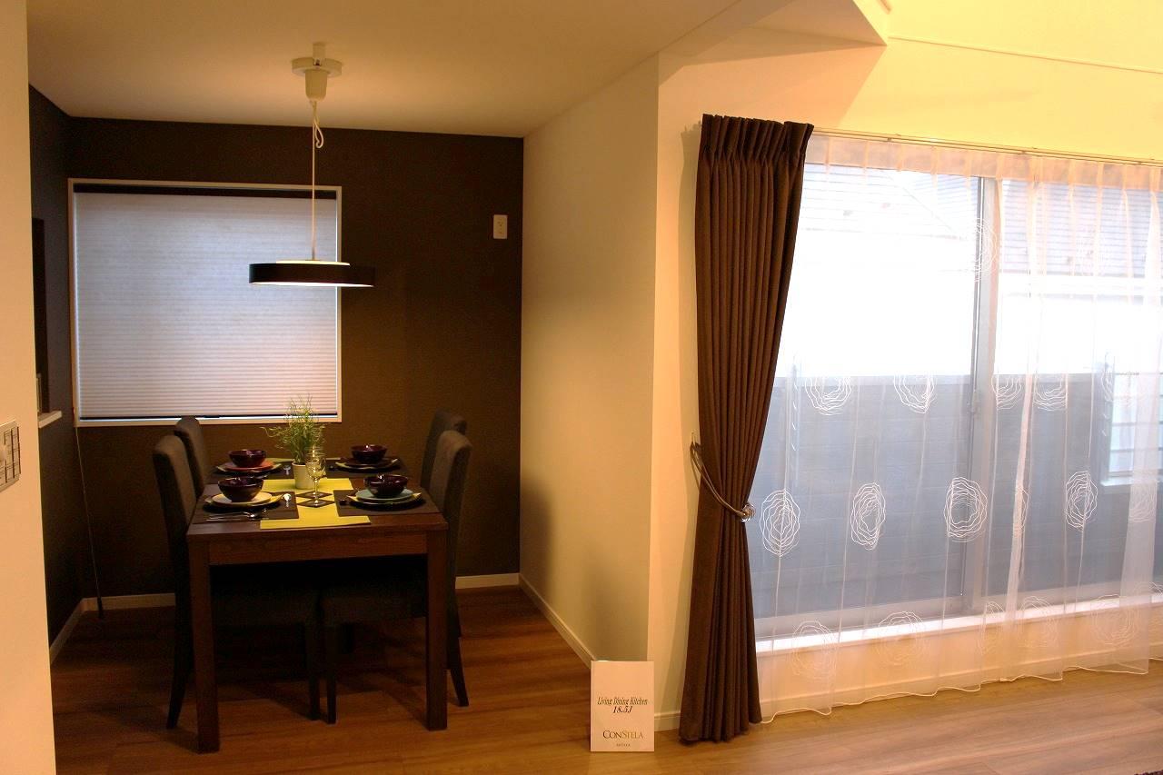ルーセントホーム モデルルーム LDのカーテン
