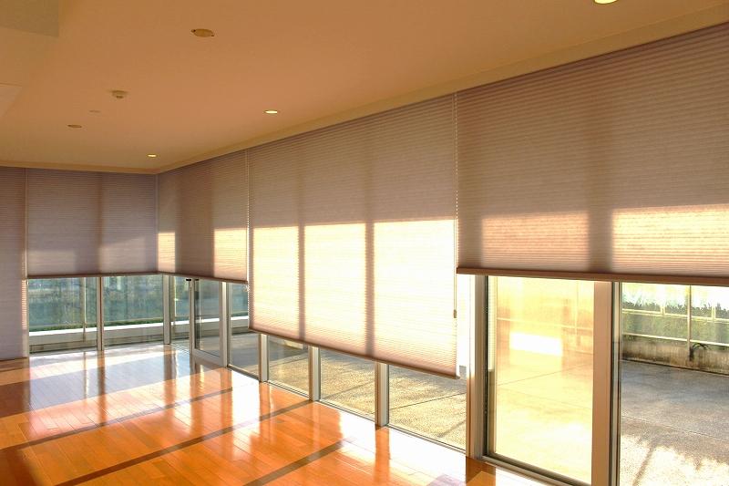 ルーセントホーム 省エネシェード 開放感ある窓