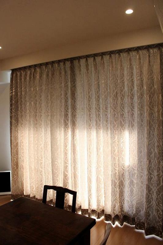 オーダーカーテン ヨーロッパのカーテン 上質なカーテン