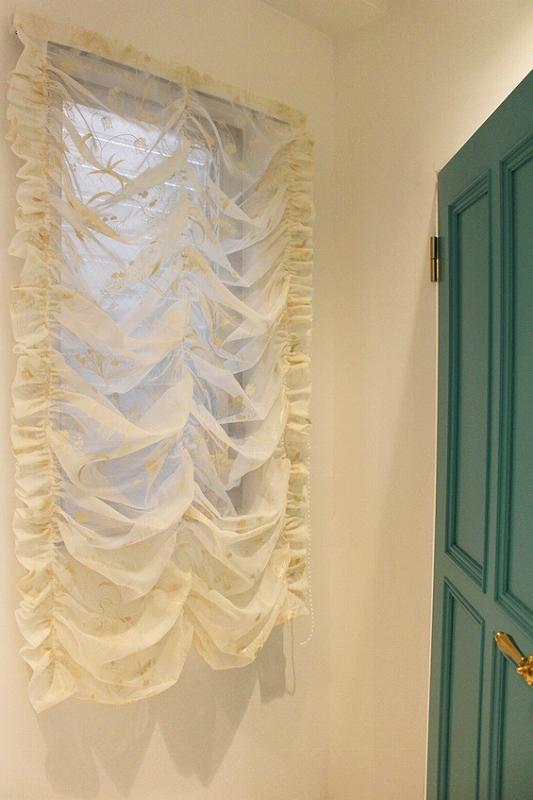 輸入カーテン オーストリアンシェード ヨーロッパのカーテン