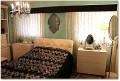 おしゃれなインテリア家具 オーダーメイドで作るベッドカバー 黒のベッドカバー