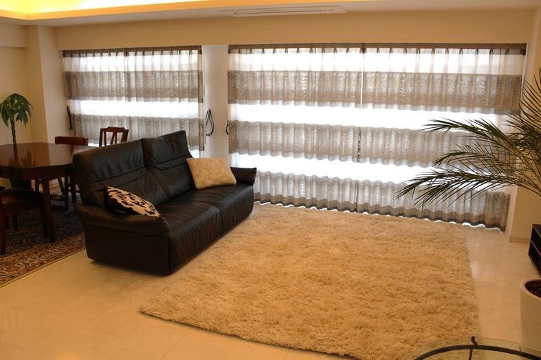プラチナカラー 輸入カーテン ヨーロッパのカーテン 海外製ラグ