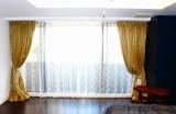 麻のカーテン ヨーロッパのカーテン ラグジュアリーな素材