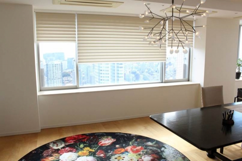 ハンターダグラス シルエット タワーマンションの窓