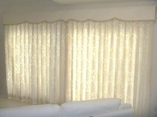 サンルーム 日よけカーテン ヨーロッパのカーテン