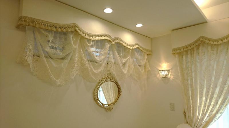 ハイサイドライトのカーテン ヨーロッパのカーテン 間仕切り