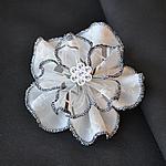 コサージュ2段花