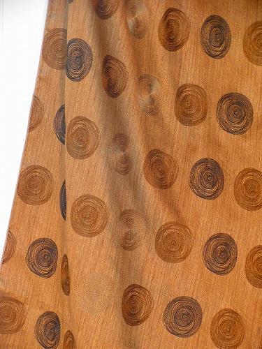 TRIS4781ブラウン.イタリア280巾¥17,500(m) ドレープカーテン