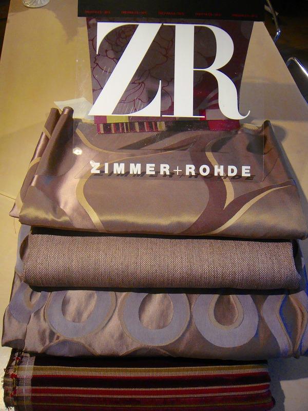 チマー&ロード(ZIMMER+ROHDE) ファブリック 取扱店