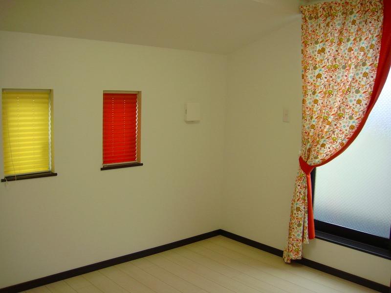 カラフルビタミンカラー 子供部屋