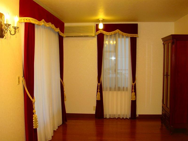 品格あるカーテン ビロード 豪華なカーテン