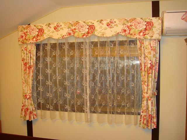 花柄のカーテン 大人可愛い イタリア製