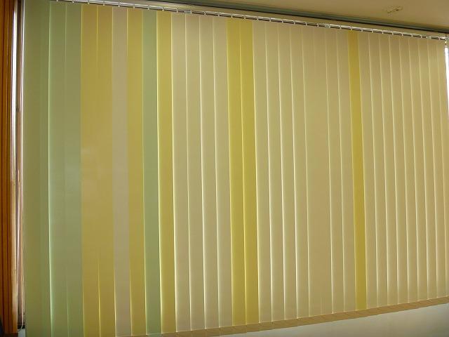 タテ型ブラインド カラーコーディネート オリジナルブラインド