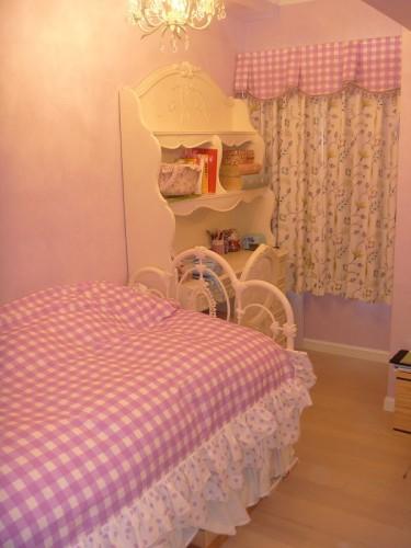子供部屋 女の子の部屋 夢のあるインテリア
