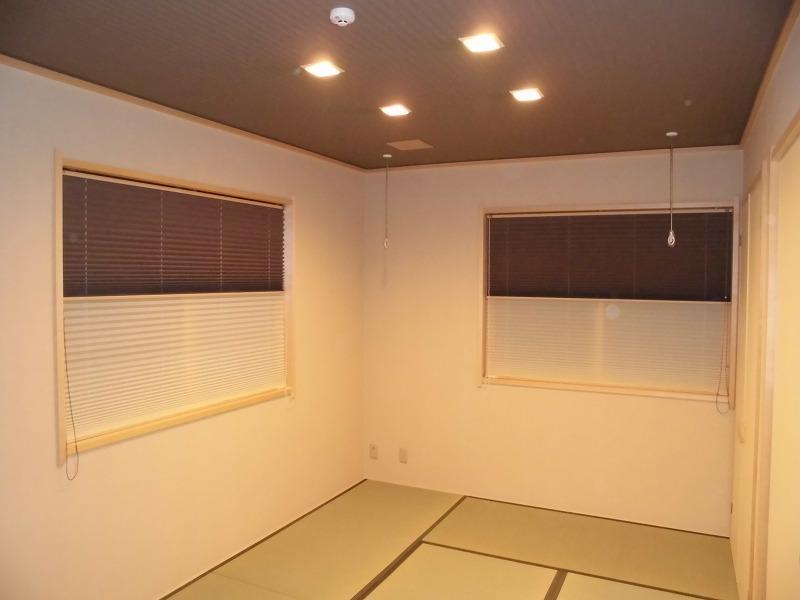 和室の窓 プリーツスクリーン タチカワ