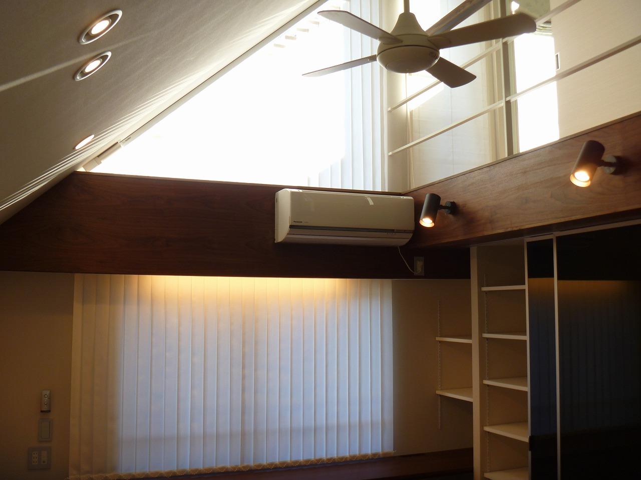 サイレントグリス 電動ブラインド 三角窓
