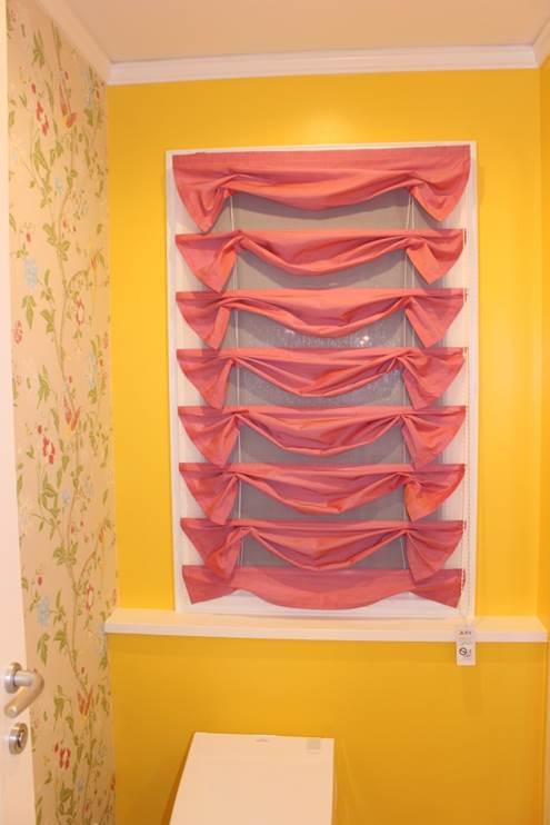小窓のカーテン リサージュスタイル ガーリッシュ