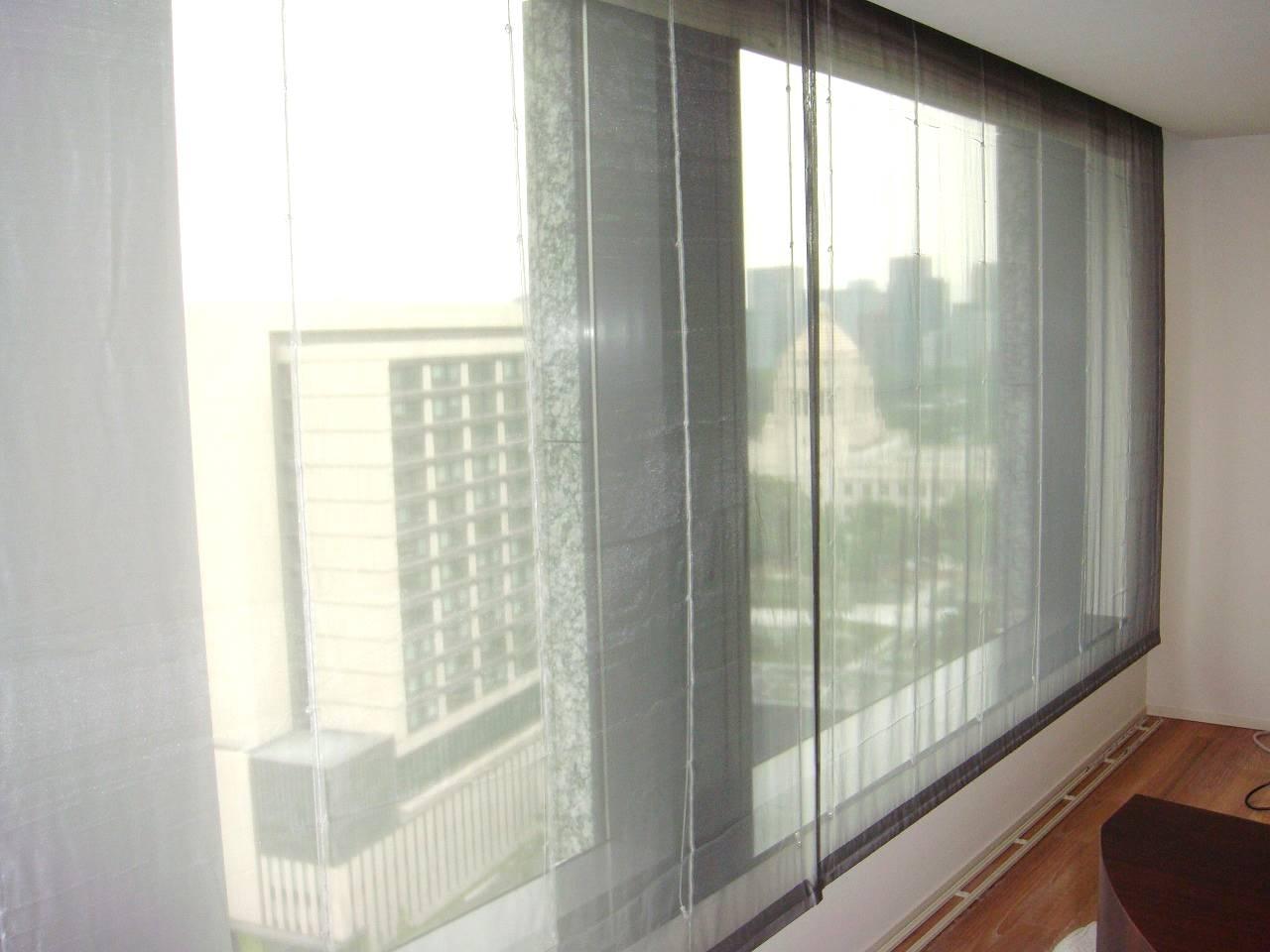 タワーマンション 大きい窓 カラーレース