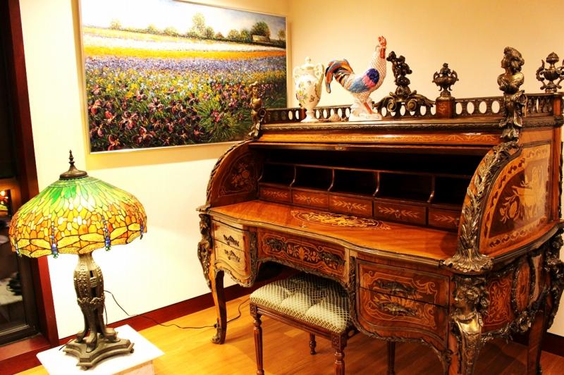 ルイ14世様式 バロック シルクのカーテン