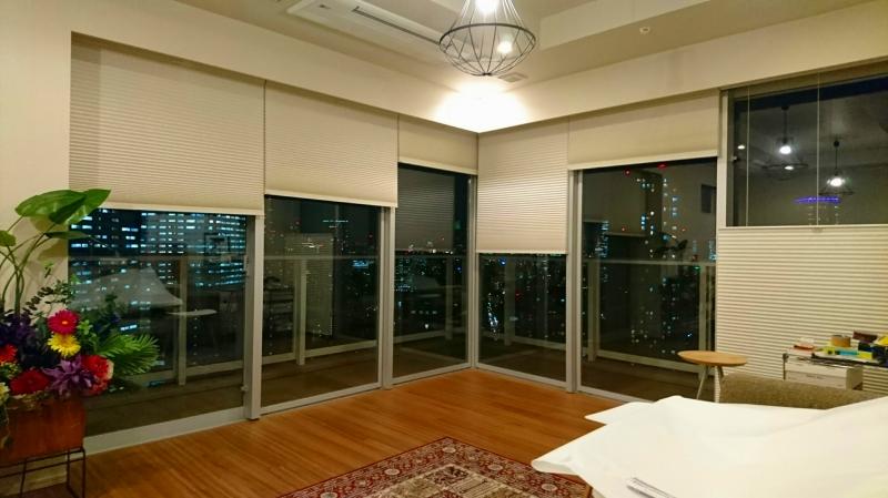 ルーセントホーム シェルシェード シンプルなカーテン