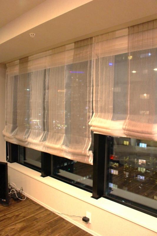 ナチュラルシェード グレージュのカーテン プラチナカラー 輸入カーテン