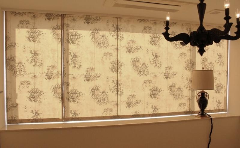 プレーンシェード アンティーク調カーテン ヨーロッパのカーテン