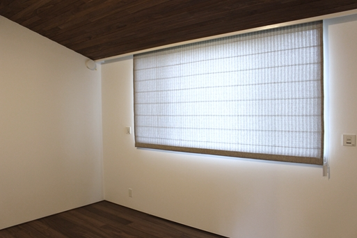ハンターダグラス プレーンシェード 都会的な窓