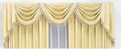 ホテルのようなカーテン バランス装飾