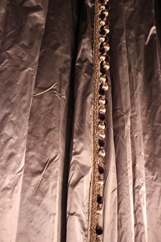 イタリア製シルク おしゃれ オーダーカーテン