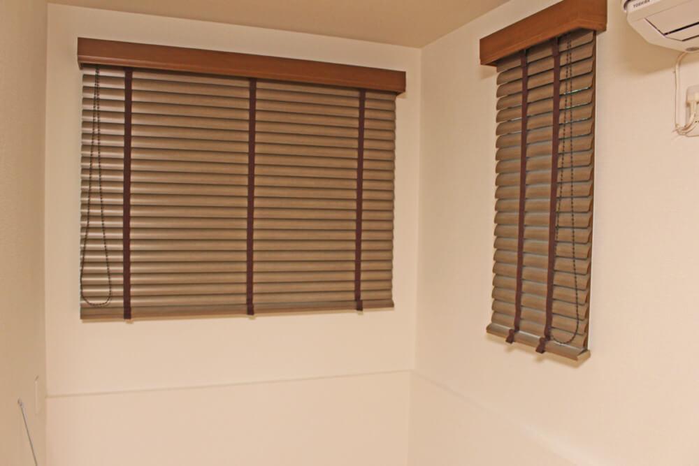 木製ブラインド オーダーカーテン ナチュラル