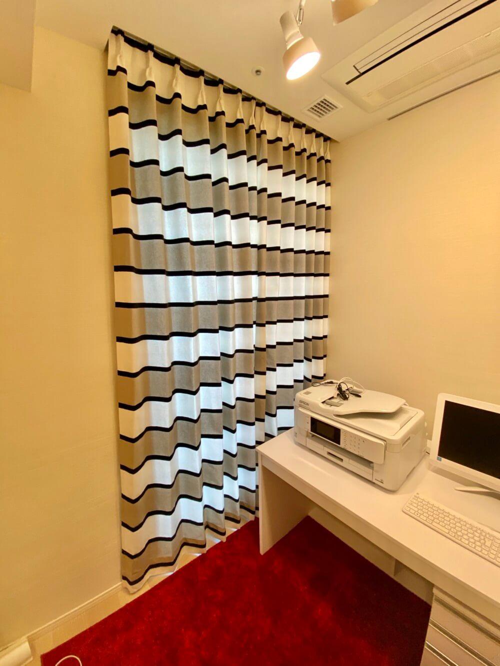 タワーマンション イタリア カーテン