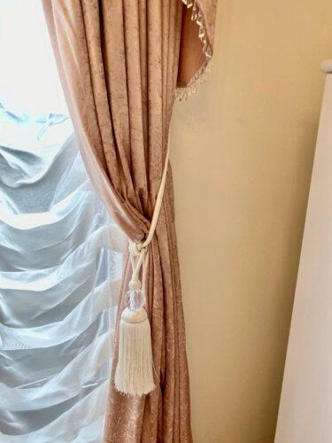 ロココカーテン ピンクのカーテン プリンセスインテリア