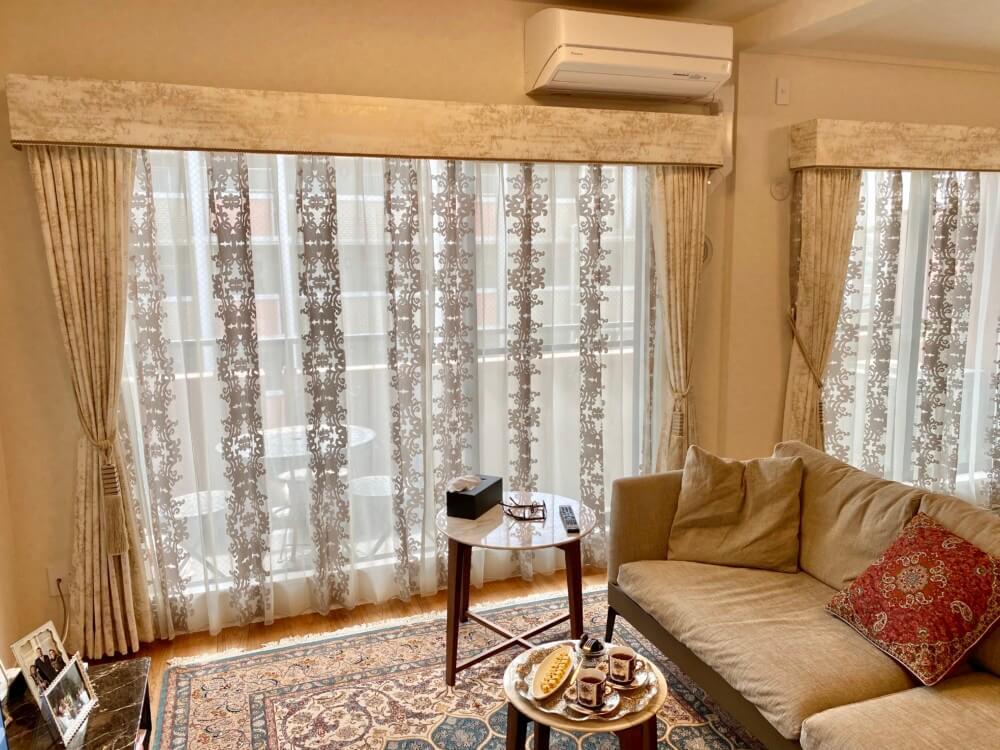 ペルシャ絨毯 インテリア